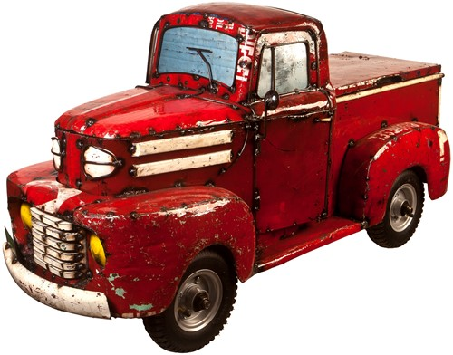 Pick-Up Truck - Red
